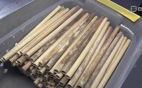 Предприниматели острова Сааремаа готовы производить миллионы тростниковых трубочек для питья.