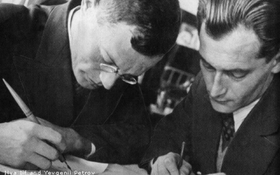 Kirjanikeduo Ilja Ilf ja Jevgeni Petrov (1932).