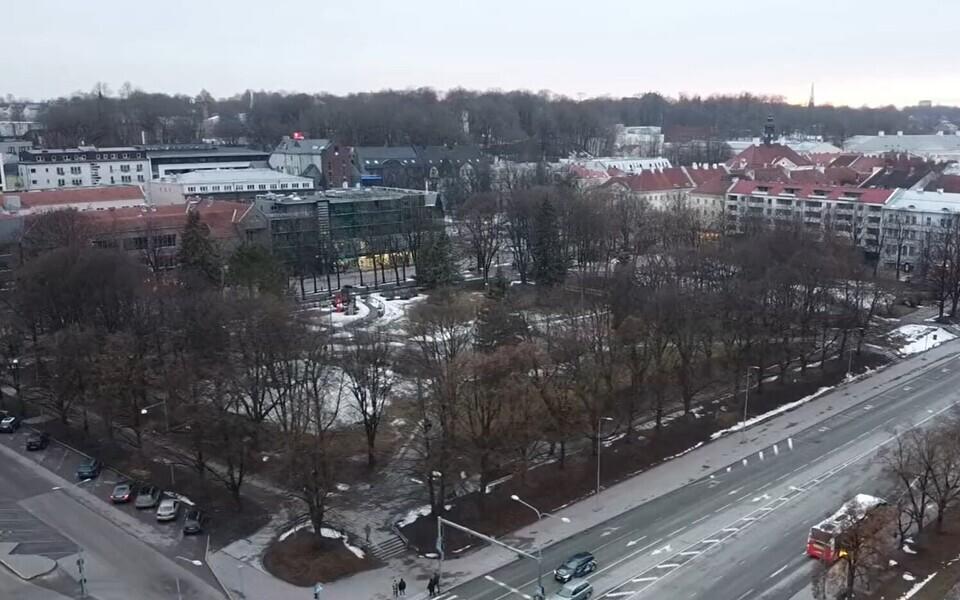 Tartu südalinna kultuurikeskuse plaanitav asukoht.