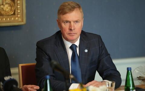 Министр обороны Калле Лаанет.