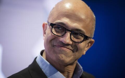 Microsofti tegevjuht Sadya Nadella.