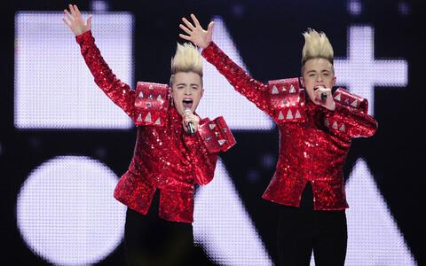 Jedward esitas 2011. aastal Eurovisioonil lugu