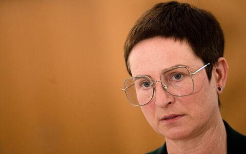 Министр социальной защиты Сигне Рийсало.