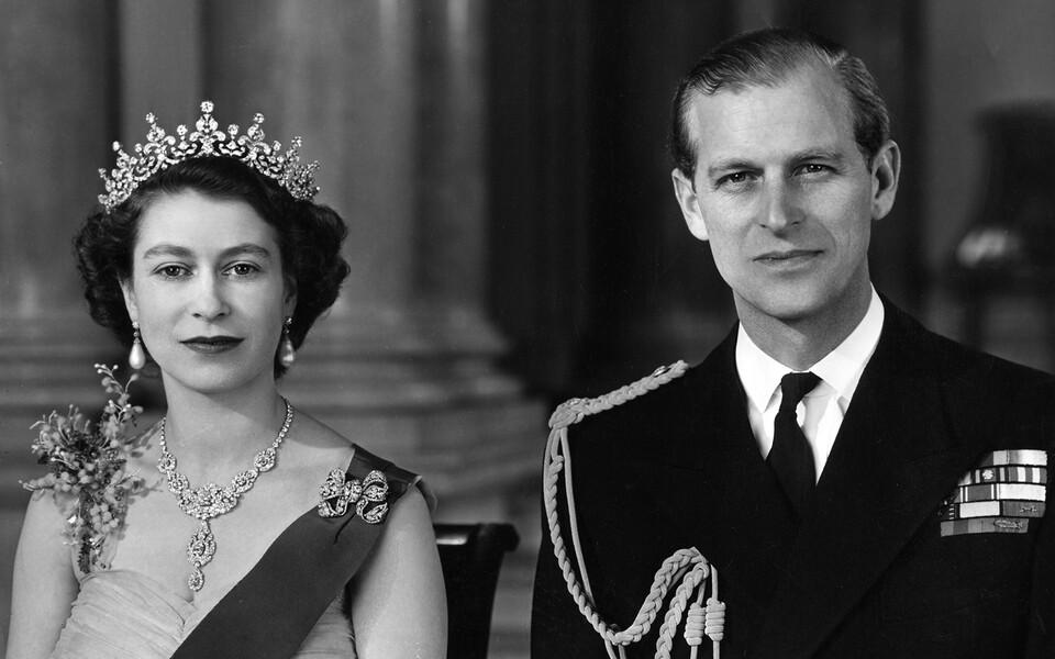 Kuninganna Elizabeth ja prints Philip 1954. aastal