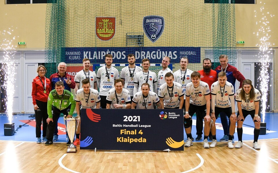 Hooaja 2020/2021 Balti liiga pronksmedalist Põlva Serviti.
