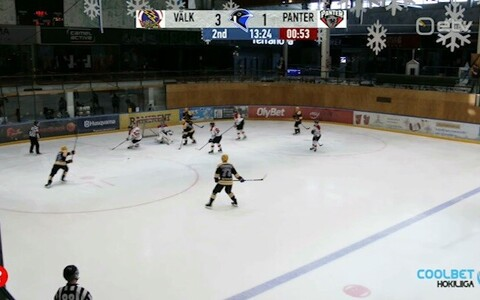Jäähoki: Tartu Välk 494 - HC Panter