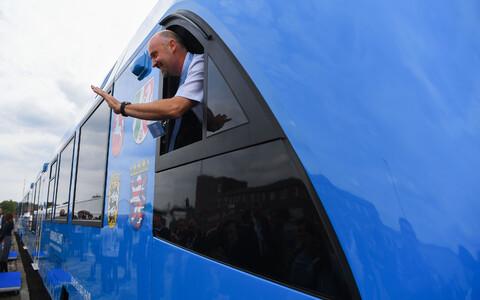 Katseline vesinikurong ALSTOM Coradia iLint Saksamaa raudteel