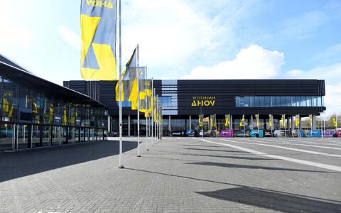 Арена Ahoy в Роттердаме.