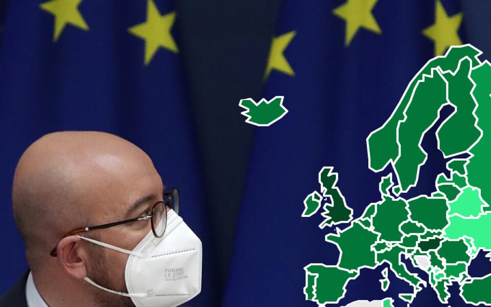 Euroopa Nõukogu president Charles Michel.