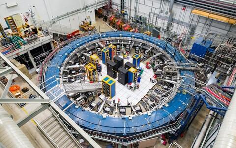 Fermilabis asuv Müüon g-2 katseseade.