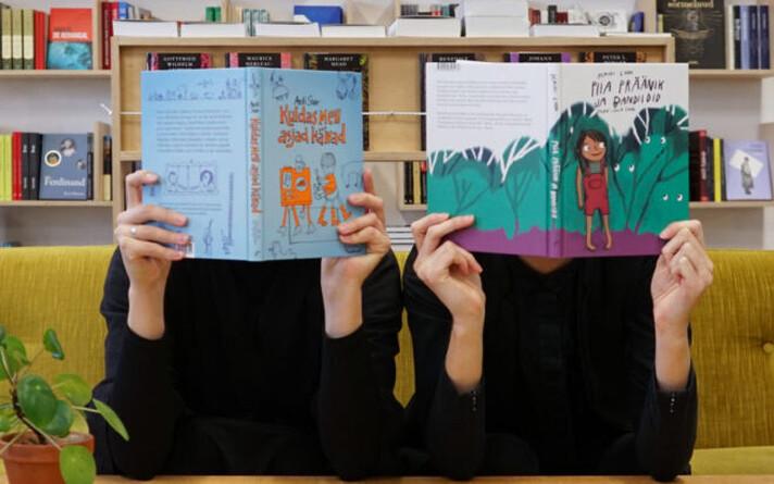 Raamatupoe Puänt eestvedajad Elisa-Johanna Liiv ja Triinu Kööba