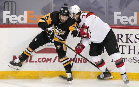 NHL: Pittsburgh - New Jersey