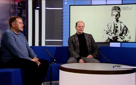 Andrus Kivirähk ja Hendrik Toompere