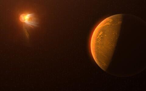 Proxima Centauril nähtud loide kunstniku nägemuses.