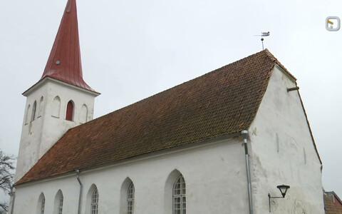 Яановская церковь в Хаапсалу.