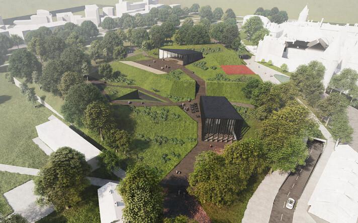 Новое возможное место для концертного зала может быть на бастионе Скооне.