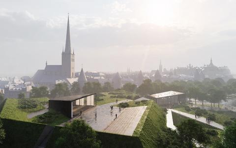 Tallinna linnaga on alates sügisest arutatud ERSO ja EFK koostööna kavandatava kontserdimaja paigutamist senise Harjuoru asemel Skoone bastioni alale.