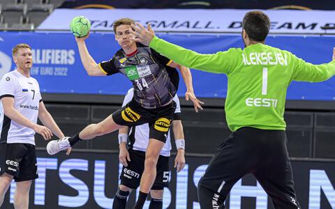 Saksamaa - Eesti käsipalli EM-valikmäng