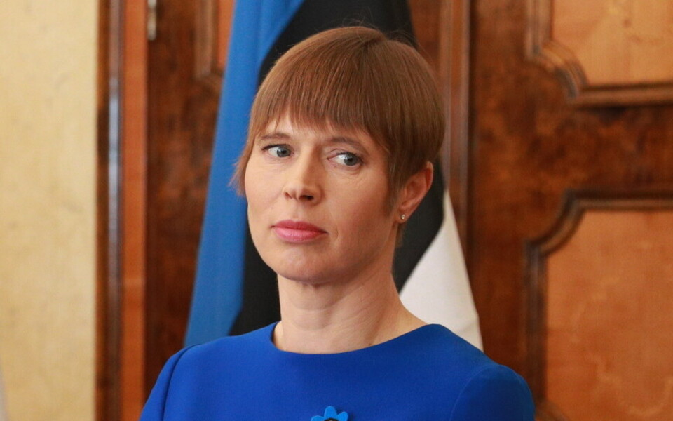 Kersti Kaljulaid.
