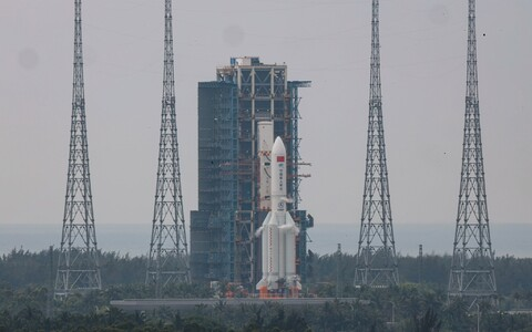 Pikk marss 5B lähetati Hiina Hainani provintsist Maa madalale oribiidile 29. aprillil.