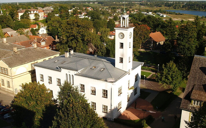 Вильяндиская ратуша.