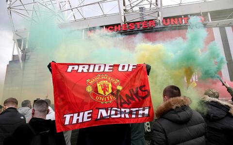 Manchester Unitedi poolehoidjad Old Traffordil.