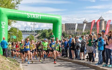 Narva Energiajooksu start 2018. aastal.