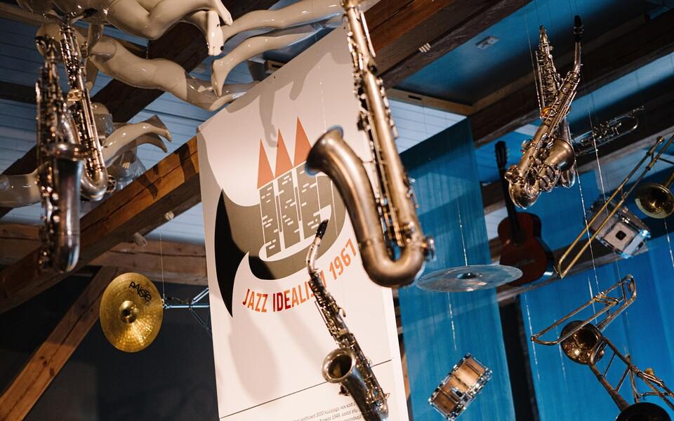 """Näitus  """"Jazz idealism 1967"""