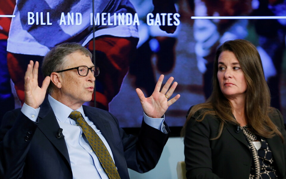 Bill ja Melinda Gates.