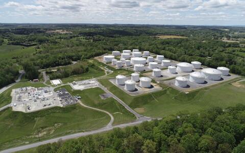 Osa USA suurimast naftataristust Colonial Pipeline.