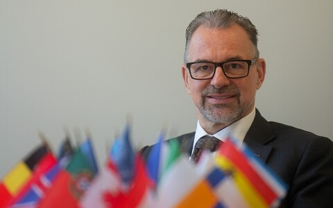 Euroopa Kosmoseagentuuri peadirektor Josef Aschbacher.