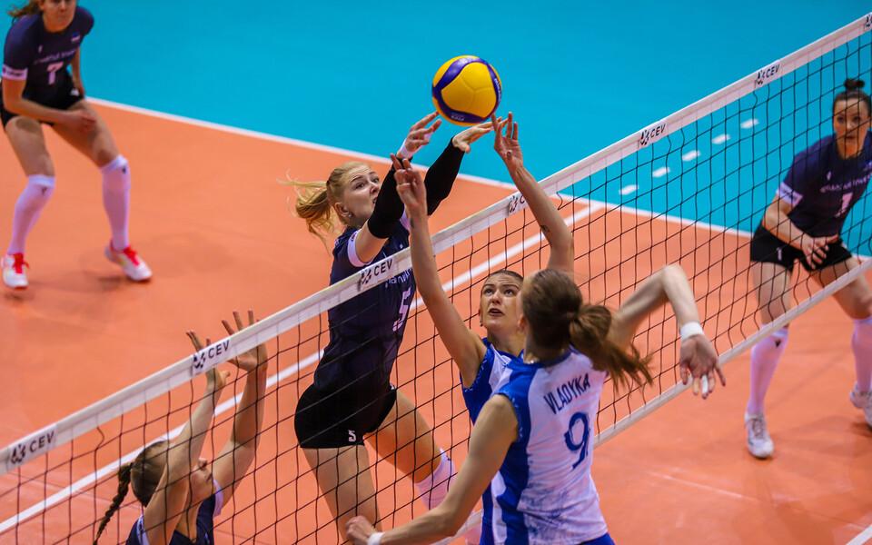 Naiste võrkpalli EM-valiksari: Valgevene - Eesti