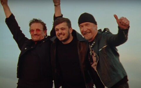 Bono, Martin Garrix and The Edge