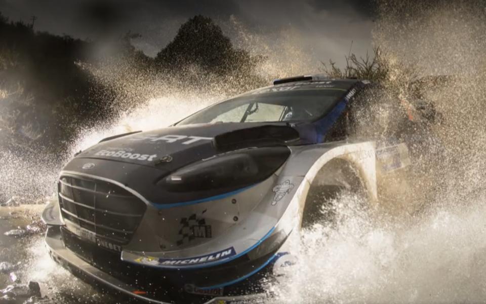 WRC viimase 25 aasta parimaks rallifotoks valiti spordifotograaf Jaanus Ree foto.