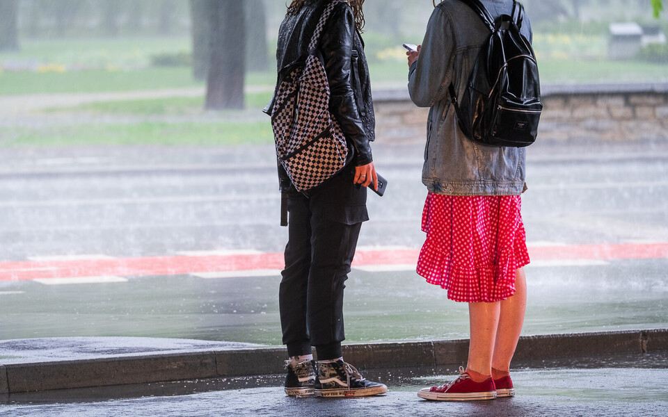 Tugev vihmasadu