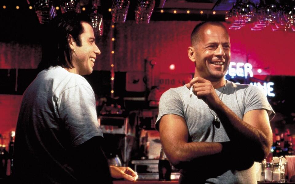 John Travolta ja Bruce Willis filmis