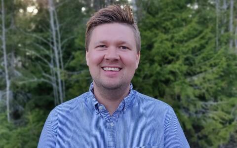 Новый главный тренер по лыжному ориентированию Маттиас Йоханссон.