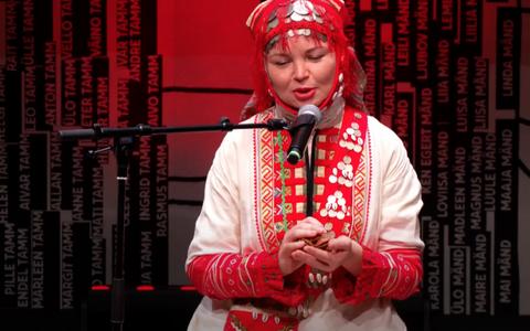 Hõimupäevad 2020 peakontsert Tartus, esineb Maria Korepanova.