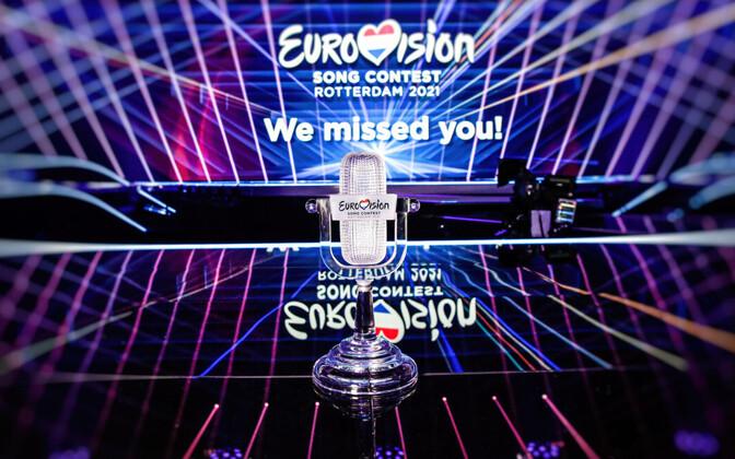 2021. aasta Eurovisiooni võitja saab klaasist trofee