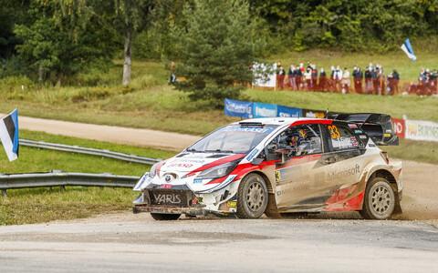Toyota Yaris WRC Rally Estonial, aastal 2020.