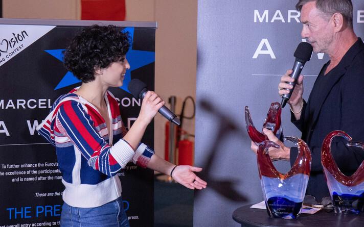 Barbara Pravi pälvis Eurovisioonil pressi- ja artistiauhinna