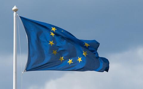 Флаг Евросоюза. Фото иллюстративное.