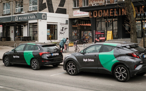 Kevadel ilmusid Citybee kõrval Tallinnas tänavaile ka Bolti üüriautod.