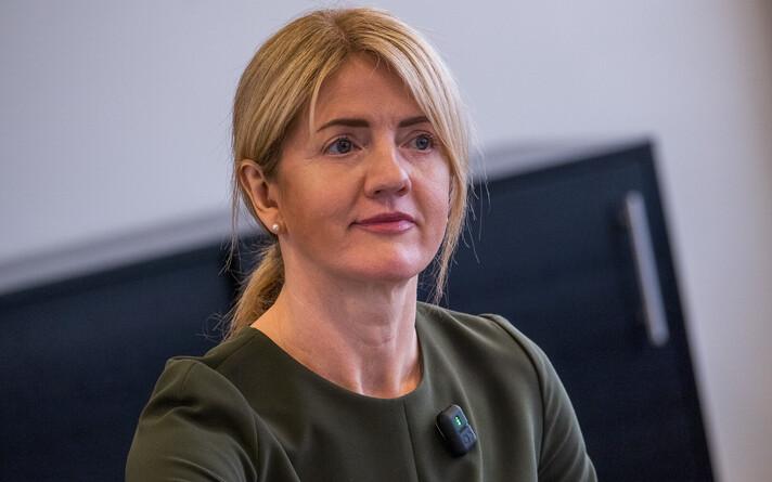Министр иностранных дел Эва-Мария Лийметс.