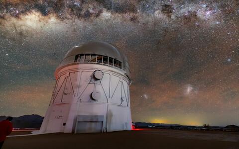 Uurijad kasutasid Tšiilis asuva Cerro Tololo Ameerikatevahelise obervatooriumi teleskoopi.