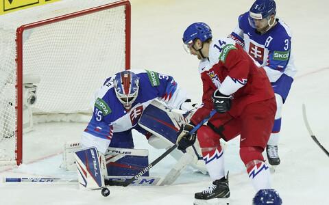 Tšehhi - Slovakkia jäähoki MM-il