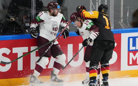 Jäähoki MM: Läti - Saksamaa