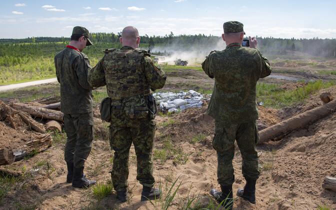Российские военные инспекторы.