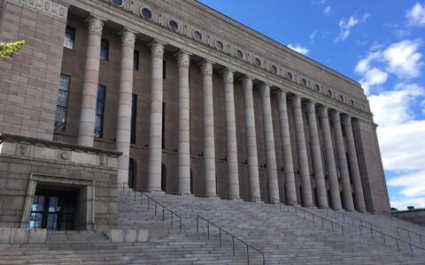Финский парламент.