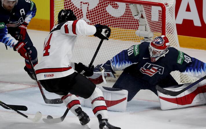 Jäähoki MM: Kanada - USA